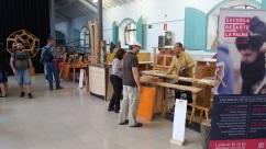 Montaje de la Escuela de arte La Palma